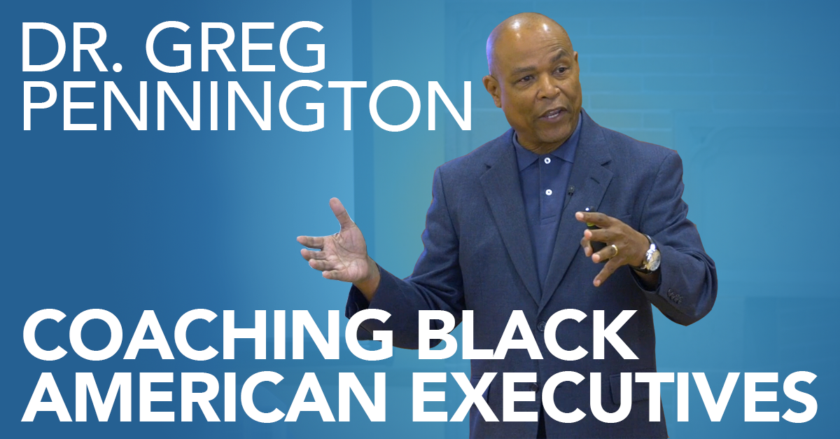[Video] Coaching Black Americans: When Do Differences Make a Difference?