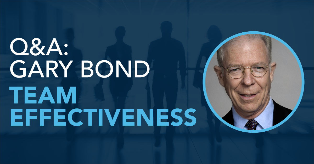Q&A: AIIR Coach Gary Bond on Team Effectiveness
