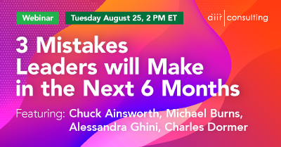 [Webinar] 3 Mistakes Leaders Will Make in the Next 6 Months