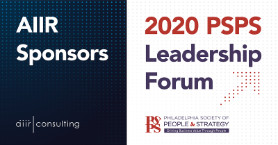AIIR Sponsors 14th Annual PSPS Leadership Forum