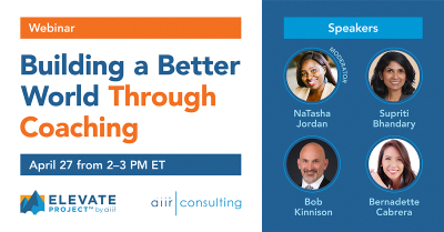 [Webinar] Building a Better World Through Coaching
